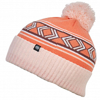 686 GIRLS CHALET POM BEANIE Dusty Pink