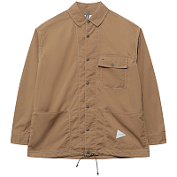 And Wander DRY RIP Shirt BEIGE