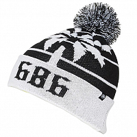 686 THROWBACK POM BLACK