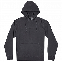 RVCA BLOCKED HOODIE PIRATE BLACK