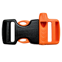GEAR AID WHISTLE BUCKLE KIT BLACK