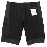 SATISFY JUSTICE 10 CARGO SHORTS BLACK