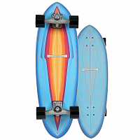 Carver CX BLUE HAZE SURFSKATE COMPLETE RAW