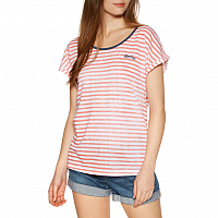 Rip Curl Line UP TEE PORCELAIN