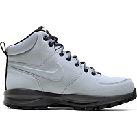 Nike MANOA LEATHER WOLF GREY/THUNDER GREY-BLACK