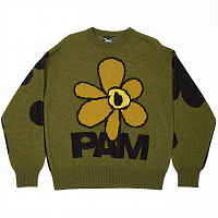 PERKS AND MINI SHADOW CAST KNITTED JUMPER KHAKI