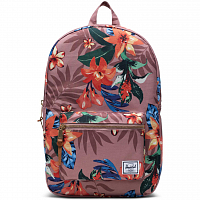 Herschel Settlement Mid-Volume SUMMER FLORAL ASH ROSE