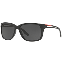 Prada Linea Rossa 0PS 03TS MATTE BLACK/GREY