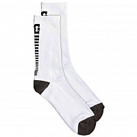 DC Back Smack M Sock White