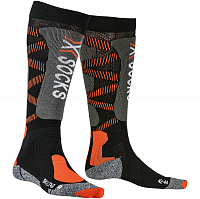 X-Socks SKI LT 4.0 BLACK/X-ORANGE