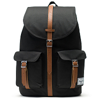 Herschel STUDIO DAWSON X-LARGE Black/Tan Synthetic Leather