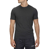 Hurley M QUICK DRY PERFORMANCE MESH S/S DK GREY HEATHER