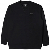EDWIN Base Crew Sweat BLACK (GARMENT WASH)