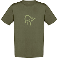 NORRONA 29 COTTON VIKING T-SHIRT M'S OLIVE NIGHT