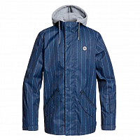 DC UNION JKT M SNJT DRESS BLUES LOGO PIN STRIPE