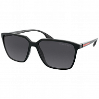 Prada Linea Rossa 0PS 06VS BLACK DEMISHINY/POLAR GREY