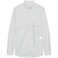 And Wander DRY Linen Shirt (M) White