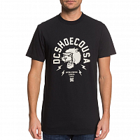 DC WORLDWIDE USA M TEES BLACK