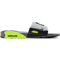 Nike AIR MAX 90 SLIDE SMOKE GREY/SMOKE GREY-VOLT-BLACK
