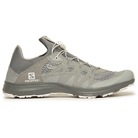 And Wander Reflective Mesh Sneaker BY Salomon GRAY
