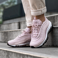 Nike W AIR MAX 97 BARELY ROSE/BARELY ROSE-BLACK