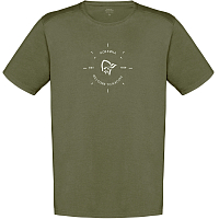 NORRONA 29 COTTON LOOP T-SHIRT OLIVE NIGHT