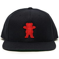 Grizzly OG BEAR SNAPBACK NAVY / RED