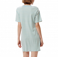 OBEY GAZER DRESS LIGHT BLUE MULTI