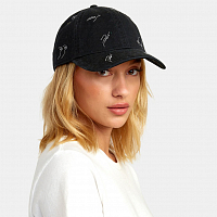 RVCA STAPLE DAD HAT BLACK