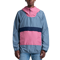 Herschel PACKABLE ANORAK BLUE MIRAGE/HEATHER ROSE