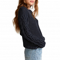 RVCA EMBER SWEATER NAVY