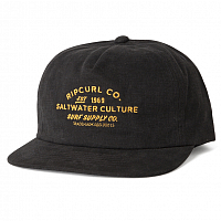 Rip Curl SUPPLY CO SB CAP WASHED BLACK