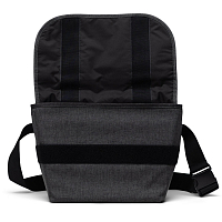 Herschel GRADE MID-VOLUME Black Crosshatch
