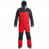 Airblaster STRETCH FREEDOM SUIT DARK RED PEWTER