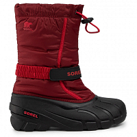 Sorel YOUTH FLURRY RED JASPER/MOU