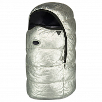 Airhole AIRHOOD - PACKABLE SILVER