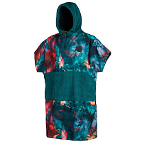 Mystic Poncho Allover TEAL