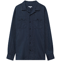 ENGINEERED GARMENTS CLASSIC SHIRT NAVY CL SOLID