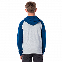 Rip Curl BIG MAMA STRIPE HZ FLEECE CEMENT MARLE