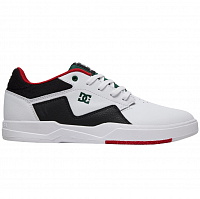 DC BARKSDALE M SHOE WHITE/RED/BLACK