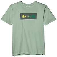 Hurley M BNZ ONE & ONLY SHADED S/S SILVER PINE