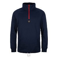 Planks Down DAY 1/4 ZIP Pullover DARK NAVY