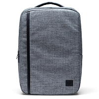Herschel TRAVEL BACKPACK Raven Crosshatch