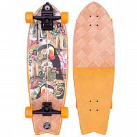 Z-Flex Banana Train Surfskate Fish 31""