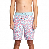 RVCA ARROYO TRUNK BERMUDA BLUE