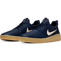 Nike SB NYJAH FREE MIDNIGHT NAVY/SUMMIT WHITE-MIDNIGHT NAVY