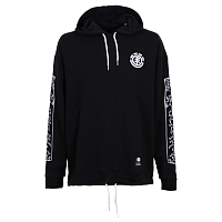 Element KH JUMP POP HOOD FLE FLINT BLACK