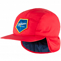 Fjallraven POLAR PADDED CAP TRUE RED