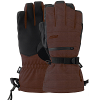 Pow WAYBACK GTX LONG GLOVE +WARM BURNT BRICK