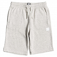 DC REBEL SL SHORT B OTLR LIGHT GREY HEATHER